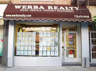 Werba Realty Office in Ridgewood, Queens, NY