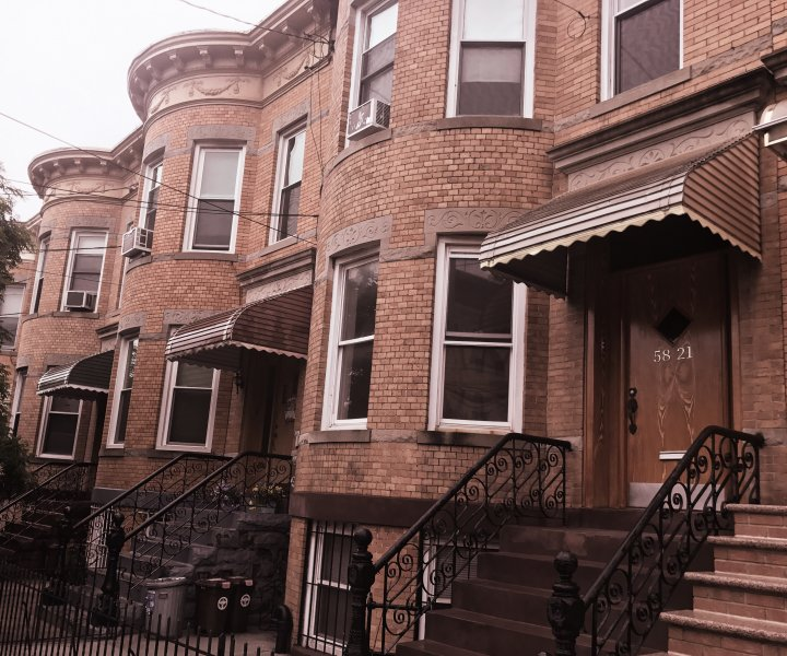 2 Family Brick--Ridgewood LANDMARK District--Loaded with Original Architectural Details!