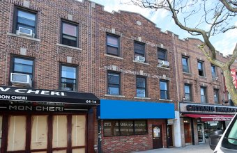 Mixed Use: 2 Res+1 Commercial Space (Fresh Pond Road)