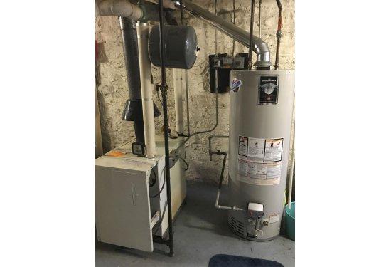 Gas Fuel / Hot Water Heat