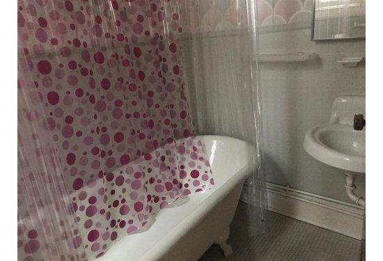 2nd Fl Bath with Window & Original Claw Foot Tub