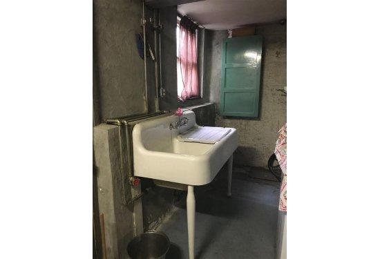 Basement: Original Sink