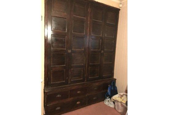 Original Built In Cabinet in Master Bedroom