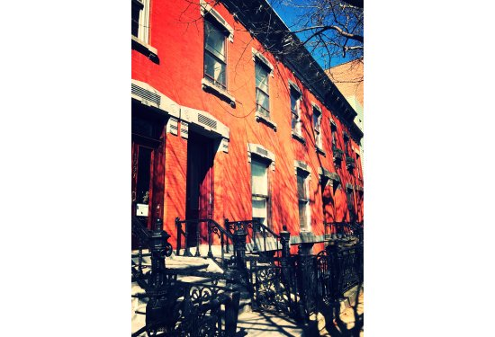 2 Family 19th Century Brick LANDMARK Beauty with Garden Duplex Apartment just a block off Manhattan Avenue