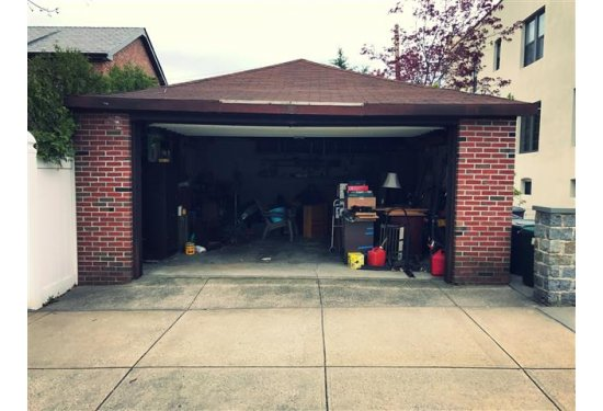 1.5 Car Garage with plenty of room for storage
