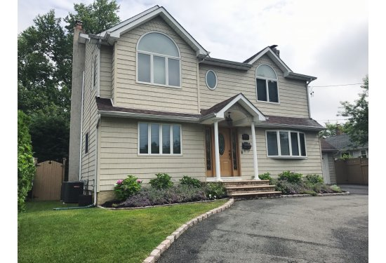"""Stunning 4 BR Colonial with """"H"""" circular driveway & backyard oasis with in-ground pool"""