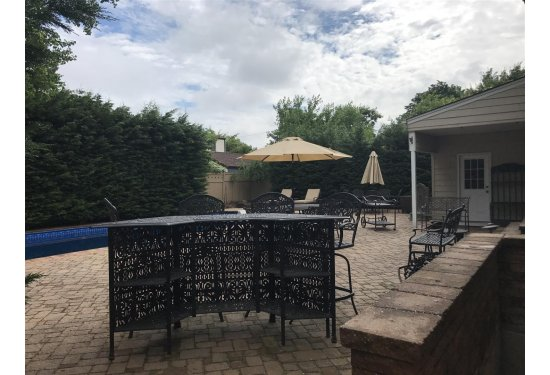 XL Backyard Patio with Pavers - Perfect for Relaxing & Entertaining with all your Family & Friends