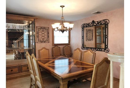 Formal Dining Room perfect for all your Family Holidays