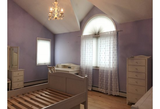 2nd Fl: 2nd Bedroom with Vaulted Ceilings Spacious enough for a King Size Bed