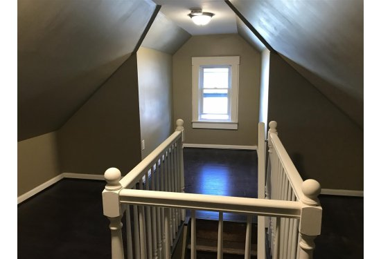 Finished Walk UP Attic for Additional Storage