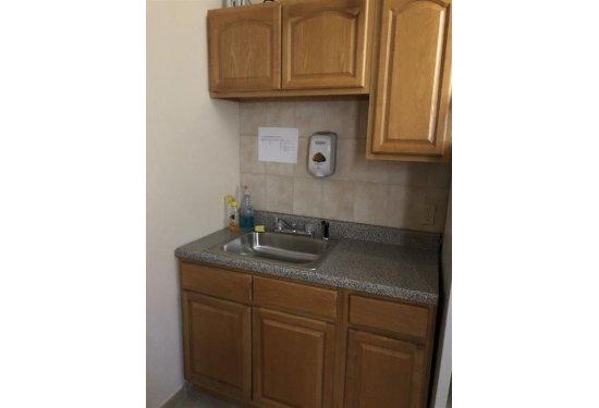 Rear Kitchenette/Sink