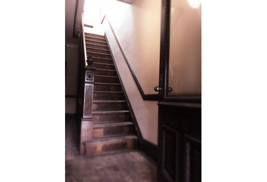 Original Woodwork Staircase & Wainscoting