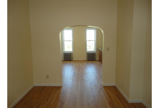 2nd Fl: FULLY Renovated 6 Rm Apartment-OPEN Living Area (3 BR)