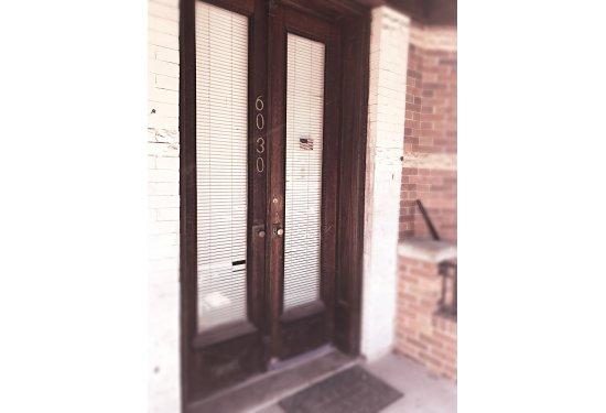 Original Two Door Front Entry