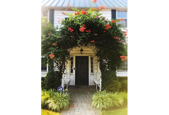 Picturesque Front Entry