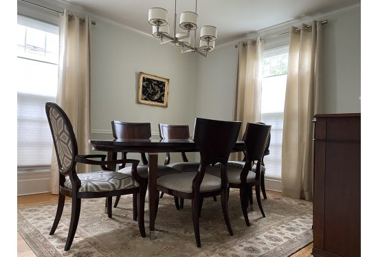 Spacious & Sunny Formal Dining Room