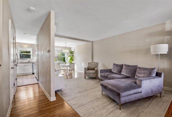 Newly Renovated Open Floorplan; Hardwood Flooring Throughout Plus Radiant Floor Heating